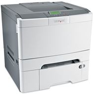 Impresora Lexmark C546dtn - Dúplex Láser color, Alimentador 550 hojas, 23ppm negro/color, USB 2.0 ¡¡ CON RED INTEGRADA !!