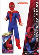 Disfraz Josman The Amazing Spiderman Musculoso con careta en caja