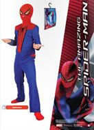 Disfraz Josman The Amazing Spiderman con capucha incluye percha y bolsa