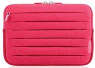 Belkin Pleat Sleeve - Funda protectora para lector de eBook - neopreno - rosa paparazzi - para Amazon Kindle (6 pulgada), 3G + Wi-Fi, Touch