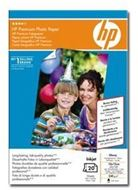 HP Q1991HF - HP Premium Photo Paper · Papel de fotografía satinado · 100 x 150 mm · 240 g/m2 · 20 hoja(s) · para Deskjet D1560, F2280, Officejet T65, Officejet Pro 11XX, K55