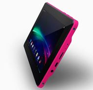"Tableta NVSBL VORTEX 7"" · Color Rosa · Android 4.0 · 4GB · MicroSD · Pantalla LCD táctil capacitiva Multi touch"