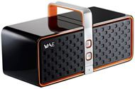 Altavoces Hercules WAE - Wireless Audio Experience - Wireless Speaker BT03 - 2.0 - 12 W RMS - Bluetooth - Negro y Rojo